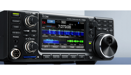 [ICOM IC-7300 HF Transceiver]